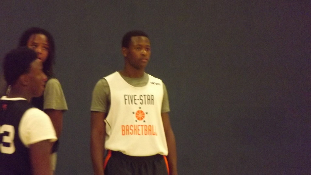 Jireh At Five Star Basketball Camp July  2013