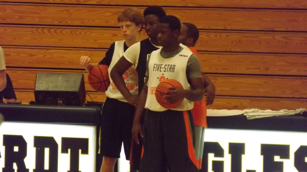 Jireh At Five Star Basketball Camp 2013