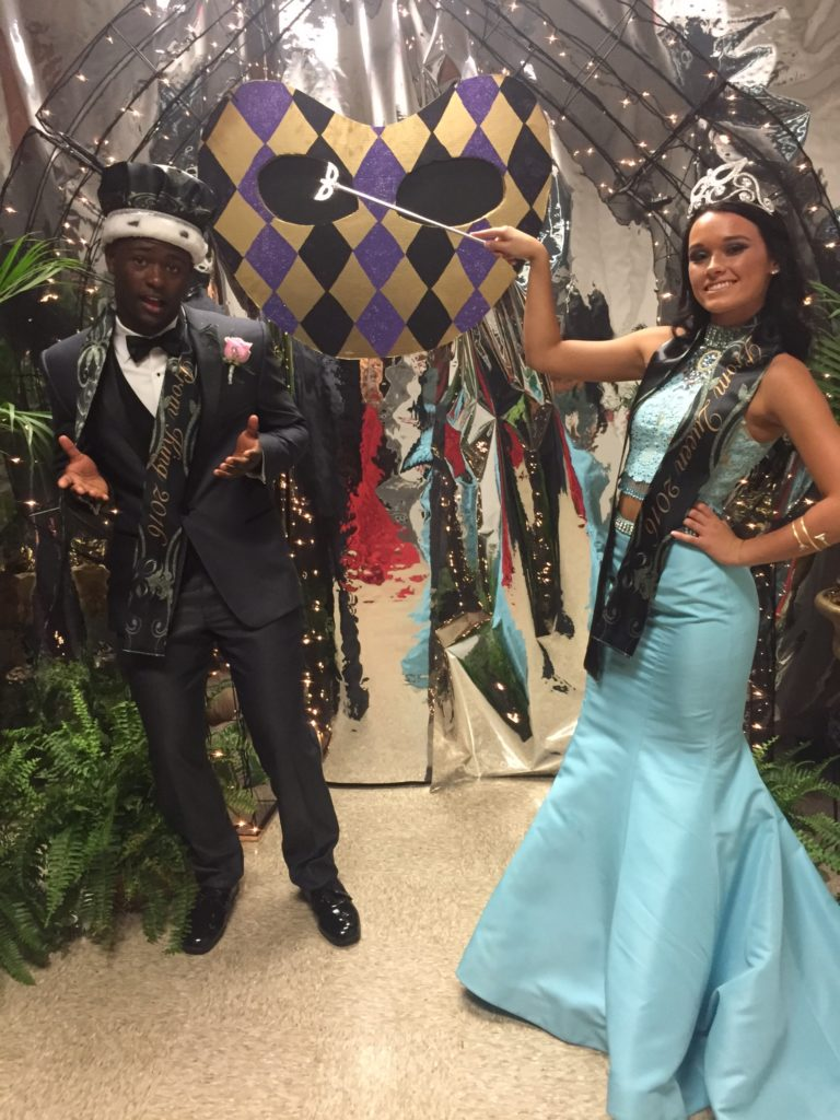 Jireh Wilson and Reid McCracken , 2016 Prom King and Queen.Calhoun High School.